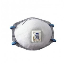 3M™ Particulate Respirator 8577, P95, with Nuisance Level Organic Vapor Relief (Box of 10)