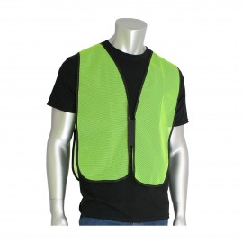 PIP Safety Vests Polyester Non Ansi Hook and Loop closure One Size  50 / Box