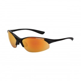 Radians Cobra Red mirror Matte Black Frame Safety Glasses 12 PR/Box
