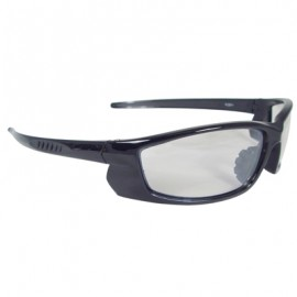 Voltage Safety Glasses - Black Frame, Indoor/Outdoor Lens 12 Pairs