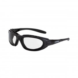 Radians Journey Man Clear AntiFog Black Safety Glasses 12 PR/Box