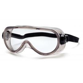 Pyramex  Goggles  Chem Splash Clear Anti Fog  Neoprene Strap Polycarbonate Safety Glasses  12 / BX