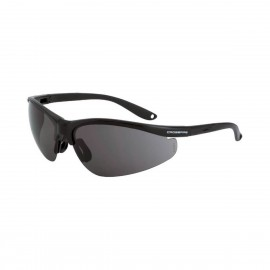 Radians Brigade Matte Black Smoke Safety Glasses 12 PR/Box