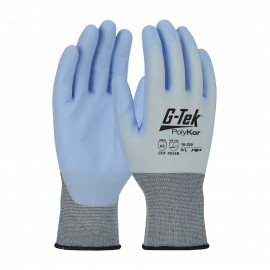 PIP 16-320/M G-Tek Seamless Knit PolyKor X7 Blended Glove with NeoFoam Coated Palm & Fingers Touchscreen Compatible Medium 6 DZ