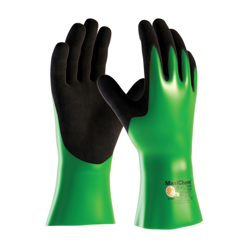 chemically resistant gloves