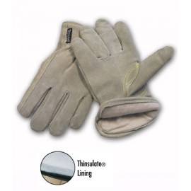 Premium Grade Split Leather 3M Thinsulate Lined Glove - Keystone Thumb