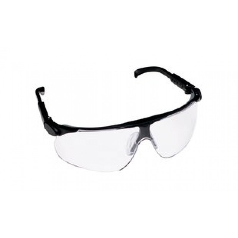 3M™ Maxim™ Protective Eyewear 13250-00000-20 Clear Lens, Black Temple (Case of 20)