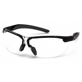 Pyramex  FlexZone  Black frame/ Clear AntiFog Lens  Safety Glasses  12/BX