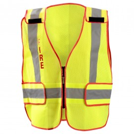 "Occunomix DOR Public Safety ""FIRE SAFETY"" Mesh Vest LUX PSF DOR Class 2"