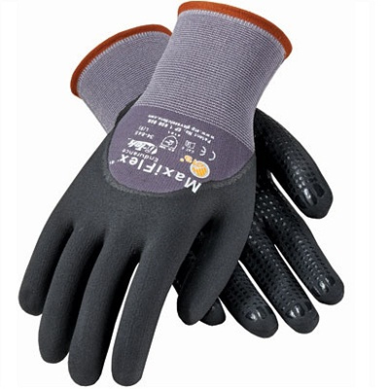 Pip Atg 34 845 Maxiflex Endurance Gloves Dotted Palms