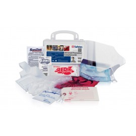 Universal Precautions Compliance Kit  - Plastic Case Kit