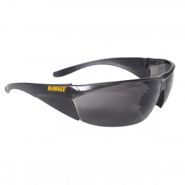 DEWALT Structure- Smoke Lens Safety Glasses Frameless Style Smoke Color - 12 Pairs / Box