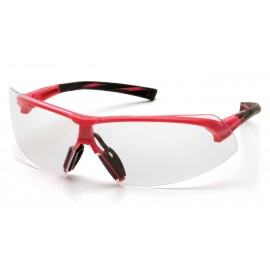 Pyramex  Onix  Pink Frame/Clear Lens  Safety Glasses  12/BX