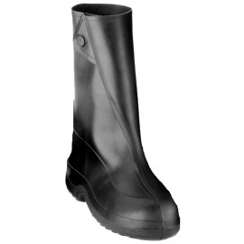 "Tingley 1400.SM Rubber Overshoe 10"" Work Boot Molded In Button"