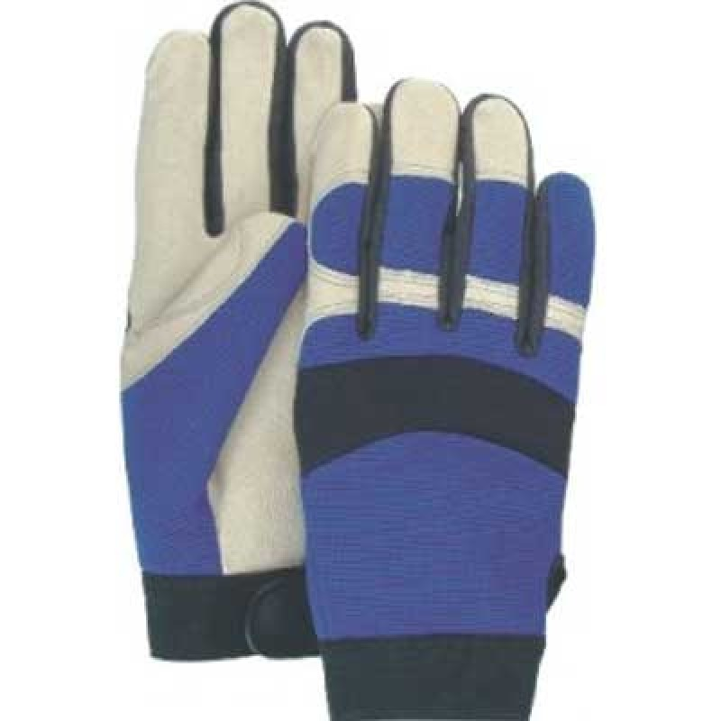 Majestic Bald Eagle Pigskin Mechanics Gloves