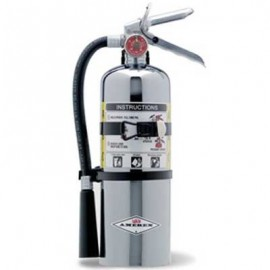 Amerex Chrome ABC Dry Chemical Fire Extinguisher
