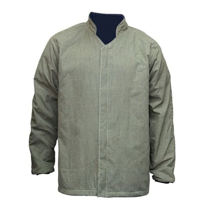 "Chicago Protective Apparel  Arc Flash 40 CAL 35"" Arc Jacket"