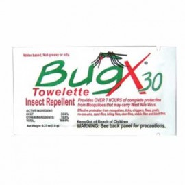 CoreTex BugX Insect Repellent Towelette-300/Box