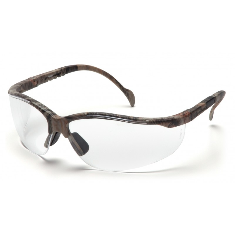 Pyramex Safety - Venture II - Real Tree HW® Frame/Clear Lens Polycarbonate Safety Glasses - 12 / BX