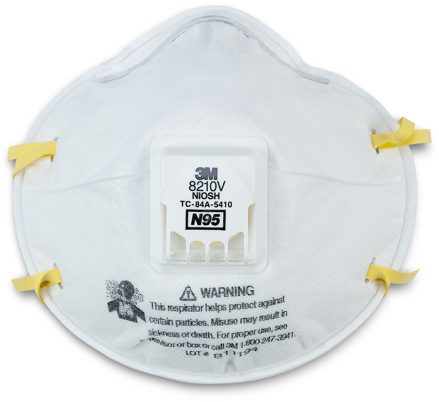 3m performance respirator mask 8210 plus