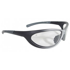 Paradox Safety Glasses with 1236/Black Frame and Clear Lens