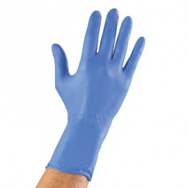 Ansell Microflex N73 High 5 Blue Nitrile Medical Exam Gloves (Box of 100)