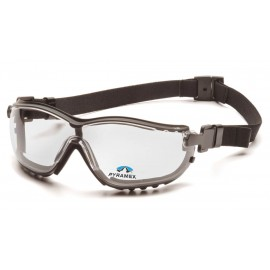 Pyramex Safety - V2G Readers - Black Frame/Clear Anti-Fog +2.0 Les Polycarbonate Safety Glasses - 6 / BX