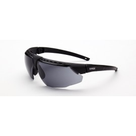 Honeywell S2851HS Uvex Avatar Black/Black Frame Gray Lens Hydroshield Anti-Fog Coating 10/Box