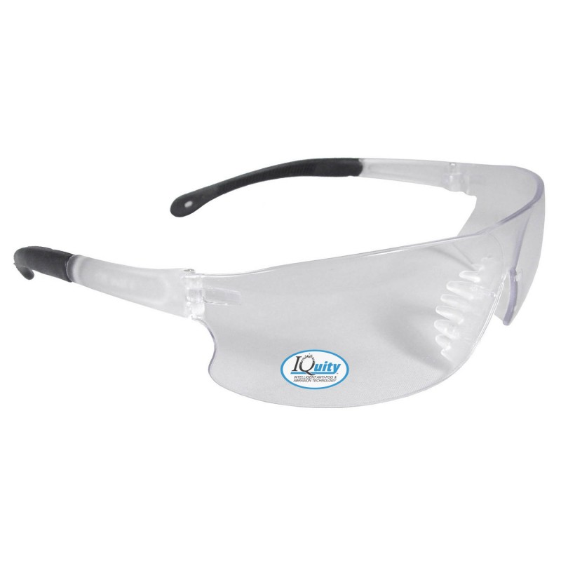 Radians Rad-Sequel Clear IQ- IQUITY Anti-Fog Safety Glasses  Style Clear Color - 12 Pairs / Box