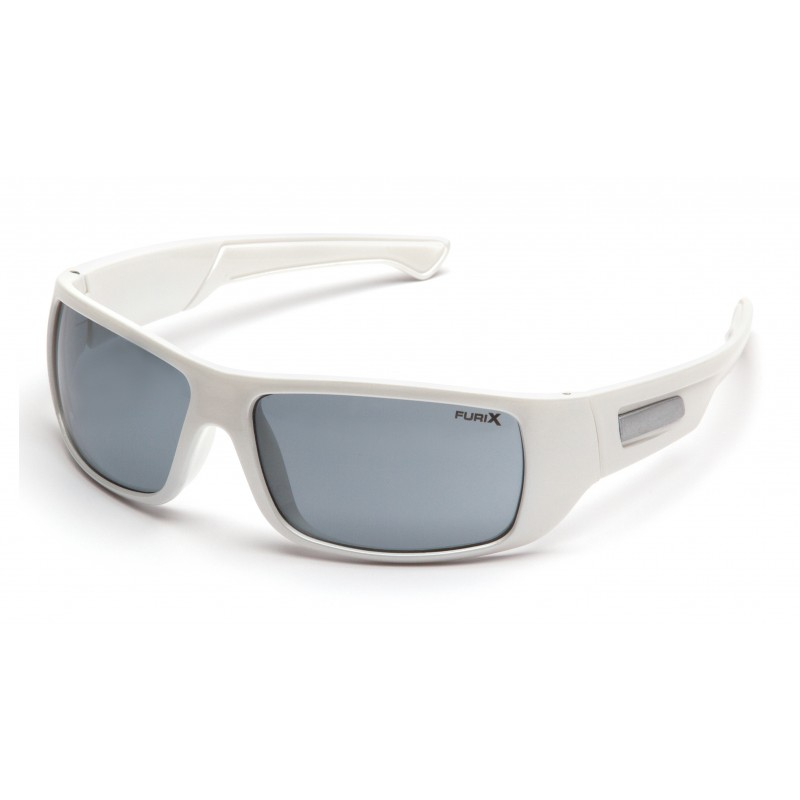 Pyramex Safety - Furix - White Frame/Gray Anti-Fog Polycarbonate Safety Glasses - 12 / BX