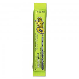 Sqwincher 060106-LL Sugar-Free Qwik Stik, Lemon-Lime, 0.11 oz, Tube, Yields 20 oz 500/Case