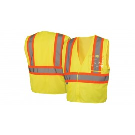 Pyramex Lumen X Hi-Vis Lime With 5 Point Break - Size Medium