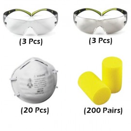 Eye/Ear/Respiratory Protection Safety Kit