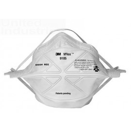 3M™ 9105 N95 VFlex™ Particulate Respirator (Case of 400)
