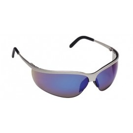 3M™ Metaliks™ Sport Protective Eyewear. 11540-10000-20 Blue Mirror Lens, Nickel Frame