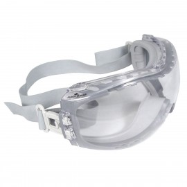 Radians Cloak - Clear AF Safety Glasses Indirect Vent Style Gray Color - 12 Pairs / Box