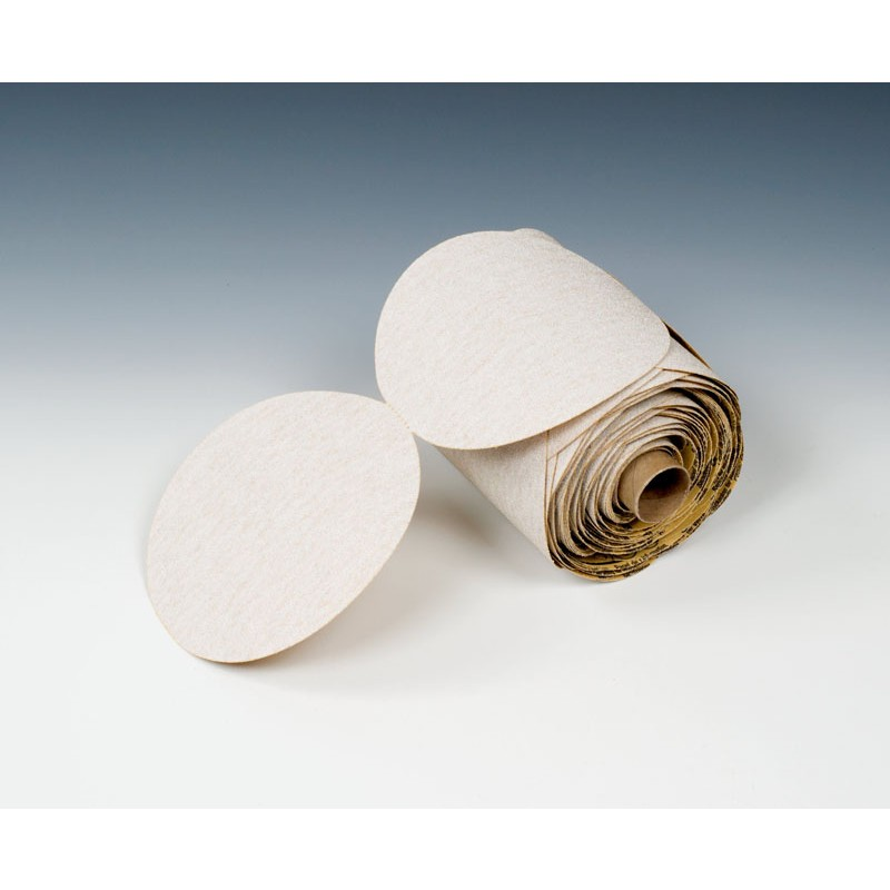 3M™ Finesse-it™ Microfinishing Film Type D Disc Roll 268L, 1-3/8 in x NH x 1000 in 9 Micron Scalloped, 4 per case