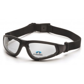 Pyramex  XSG Reader  Black Frame/Clear Anti Fog + 2.0 Lens Polycarbonate Safety Glasses  6 / BX