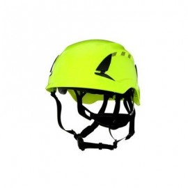 3M™ SecureFit™ Safety Helmet, X5014V-ANSI,  HVGreen, vented (Case of 10)