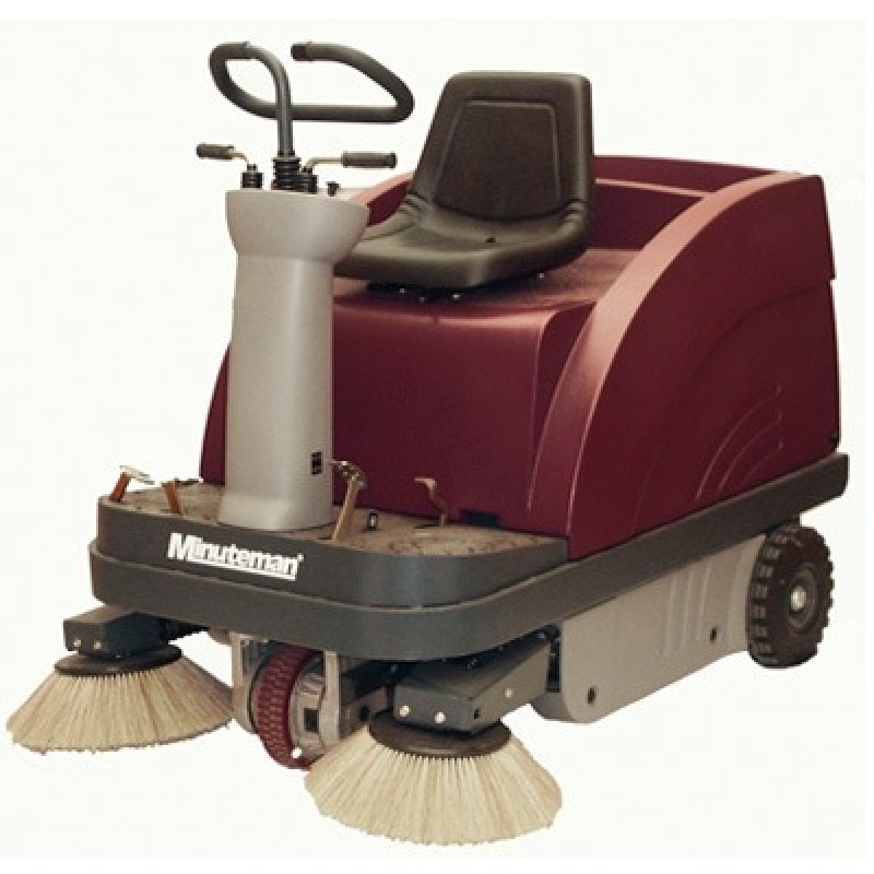 Minuteman HM47BQP Kleen Sweep 47R Rider Sweeper  (Batteries And Charger Included)