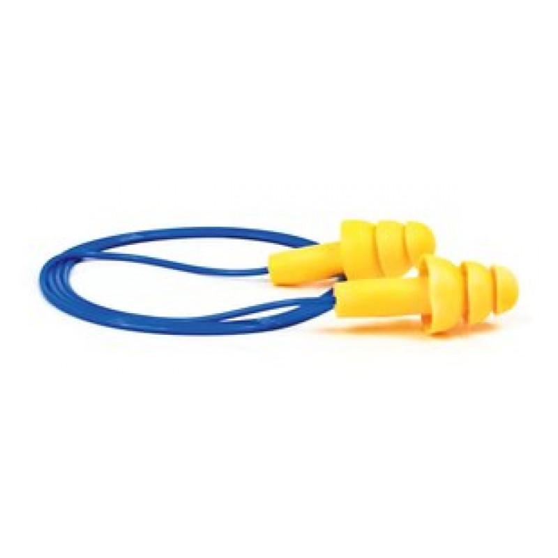 3M E-A-R UltraFit 340-4004 Corded Earplugs (100 Pair)