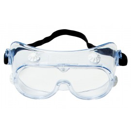 3M™ 334 Splash Safety Goggles 40660-00000-10, Clear Lens, 10 EA/Case