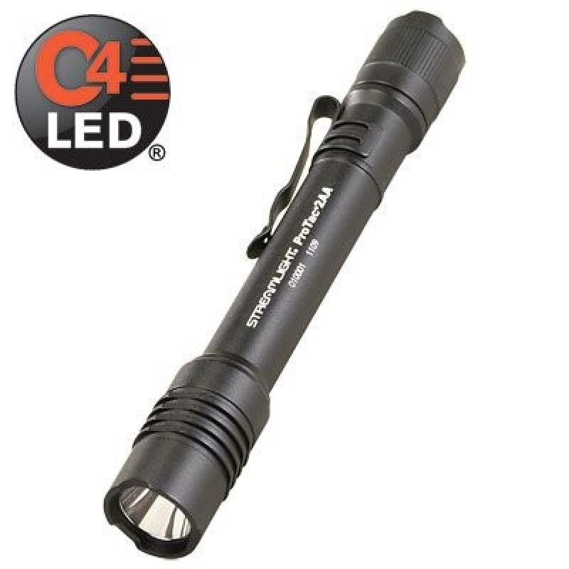 Streamlight ProTac 2AA Tactical Handheld Flashlight  Black