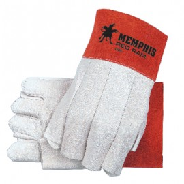 Red Ram Fingerless Welding Gloves