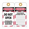 NMC LOTAG9 Danger Do Not Open This Tag 10/PK