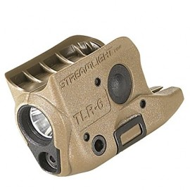 Streamlight TLR-6 GLOCK® 42/43 White LED Red Laser Flat Dark Earth Brown | 69278