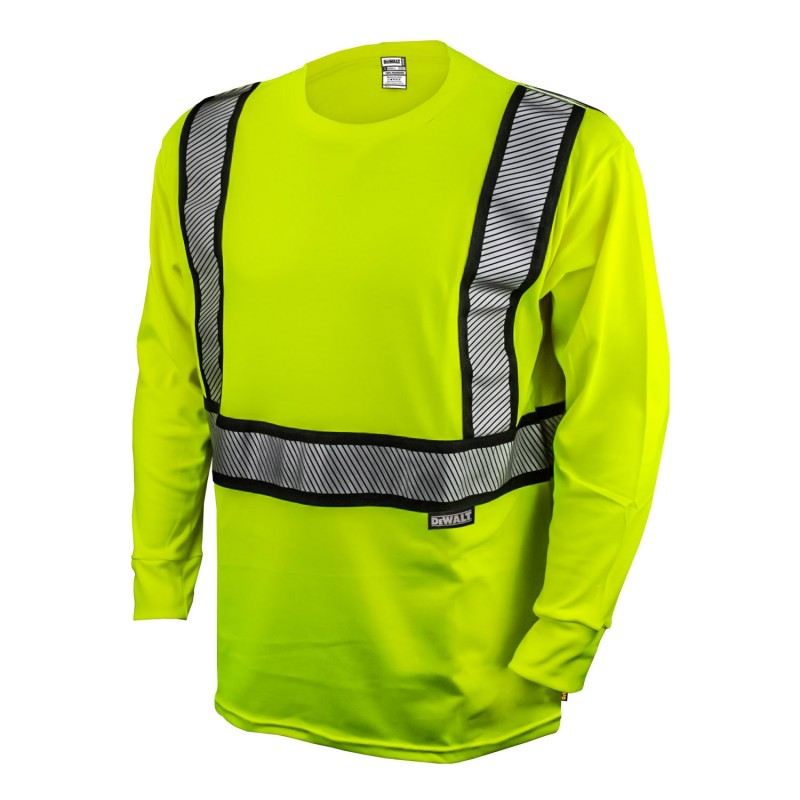 Dewalt DST921 Class 2 Modacrylic FR Long Sleeve T-Shirt (1 EA)