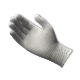 PIP Seamless Knit Thermal Yarn/Lycra Glove - 13 Gauge (LARGE) White Color 12 Pairs