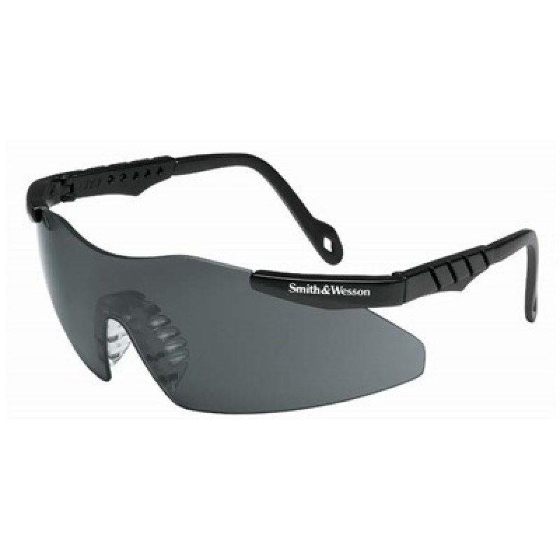 Jackson Safety Smith and Wesson Mini-Magnum Safety Glasses with Smoke Lens 12 Pairs