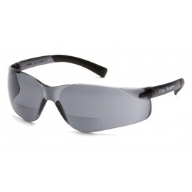 Pyramex Safety - Ztek Readers - Gray Frame/Gray + 2.5 Lens Polycarbonate Safety Glasses - 6 / BX